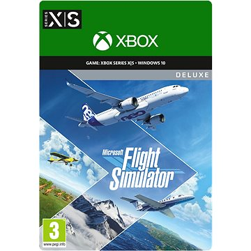Microsoft Flight Simulator - Deluxe Edition - Windows 10 Digital (2WU-00031)