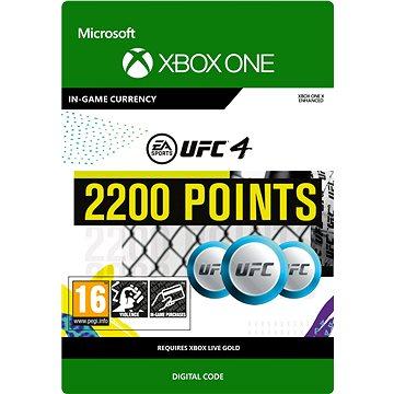 UFC 4: 2200 UFC Points - Xbox Digital (7F6-00255)