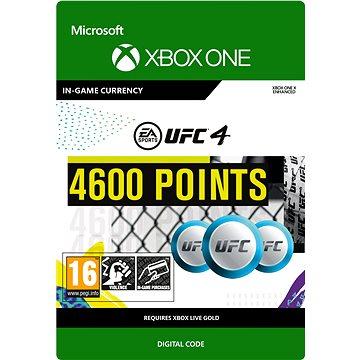 UFC 4: 4600 UFC Points - Xbox Digital (7F6-00256)