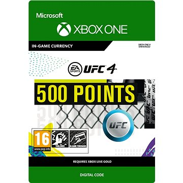 UFC 4: 500 UFC Points - Xbox Digital (7F6-00253)