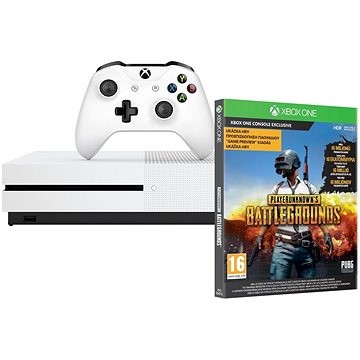 Xbox One S 1TB + Playerunknowns Battleground (234-00310) + ZDARMA Hra pro konzoli Gears Of War Ultimate Edition - Xbox One Digital Hra pro konzoli Halo 5 - Xbox One Digital Gamepad Xbox One Wireless Controller White