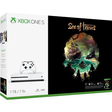 Xbox One S 1TB + Sea of Thieves (234-00333) + ZDARMA Hra pro konzoli Steep & The Crew - Xbox One