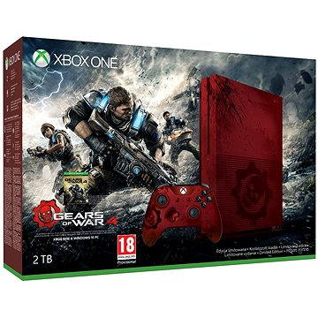 Microsoft Xbox One S 2TB Gears of War Limited Edition (23N-00009)