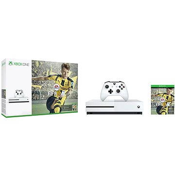 Microsoft Xbox One S Fifa 17 Bundle (500GB) (ZQ9-00056) + ZDARMA Gamepad Xbox One Wireless Controller White