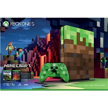 Microsoft Xbox One S 1TB Minecraft Limited Edition (23C-00011)