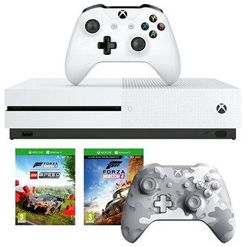 Xbox One S 1TB + Lego Forza Horizon 4 + 2x ovladač