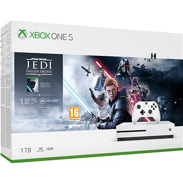 Xbox One S 1TB + Star Wars Jedi: Fallen Order (234-01098)