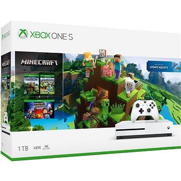 Xbox One S 1TB + Minecraft (234-00515)