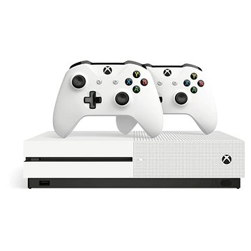 Xbox One S 1TB + extra Wireless Controller (234-00607)