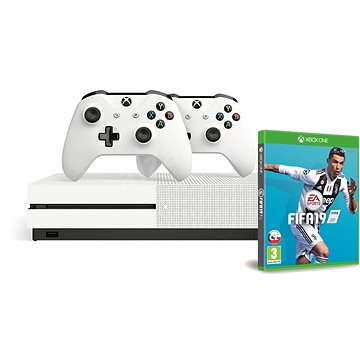 Xbox One S 1TB + extra Wireless Controller + FIFA 19