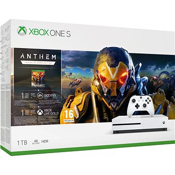 Xbox One S 1TB – ANTHEM Bundle (234-00947)