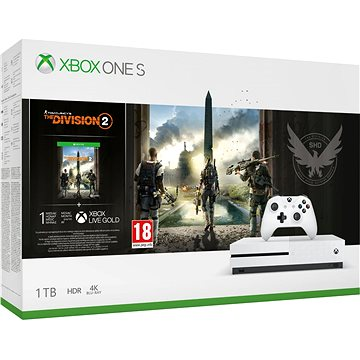 Xbox One S 1TB – The Division 2 Bundle (234-00881)