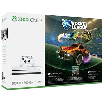 Xbox One S 500GB + Rocket League (ZQ9-00328) + ZDARMA Hra pro konzoli Halo: The Master Chief Collection - Xbox One