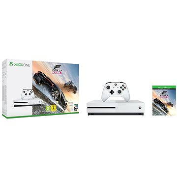 Microsoft Xbox One 1TB Forza Horizon 3 Bundle (234-00114) + ZDARMA Hra pro konzoli Gears of War 4 - Xbox One