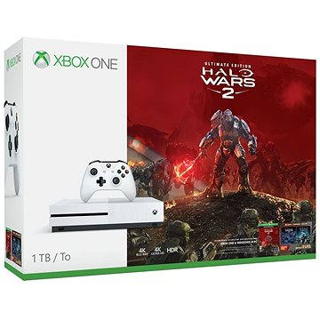 Xbox One S 1TB Halo Wars 2 Bundle (234-00137)