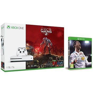 Microsoft Xbox One S 1TB Halo Wars 2 bundle + FIFA 18