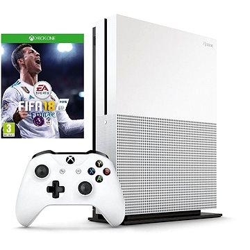 Microsoft Xbox One S 500GB + FIFA 18 + ZDARMA Gamepad Xbox One Wireless Controller black