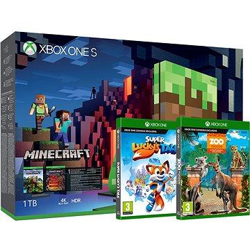 Xbox One S 1TB Childrens Pack + ZDARMA Hra pro konzoli Rare Replay - Xbox One Digital Hra pro konzoli FIFA 18 - Xbox One