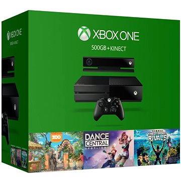 Microsoft Xbox One se senzorem Kinect + 3 hry (7UV-00173) + ZDARMA Fitness náramek Fitness náramek Rainbow Six