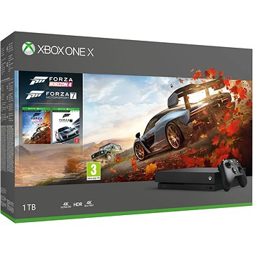 Xbox One X + Forza Horizon 4 + Forza Motorsport 7 (CYV-00057)