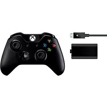 Xbox One Wireless Controller + Play & Charge Kit (EX7-00002)