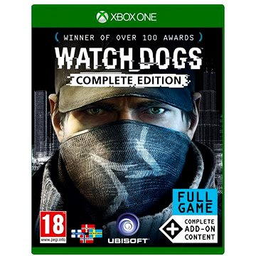 Watch Dogs Complete Edition CZ - Xbox One (3307215886588)
