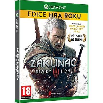 Zaklínač 3: Divoký hon - Edice Hra Roku CZ - Xbox One (8595071033887)