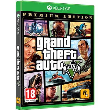 Grand Theft Auto V Premium Edition - Xbox One (5026555359993)