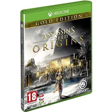 Assassins Creed Origins Gold Edition - Xbox One (USX300292) + ZDARMA Herní doplněk k předobjednávce získej zdarma misi Tajemství prvních pyramid