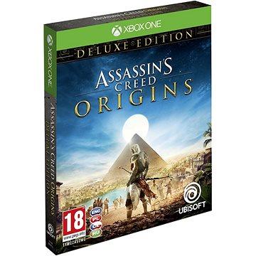 Assassins Creed Origins Deluxe Edition + Mikina - Xbox One (USX300290) + ZDARMA Herní doplněk k předobjednávce získej zdarma misi Tajemství prvních pyramid