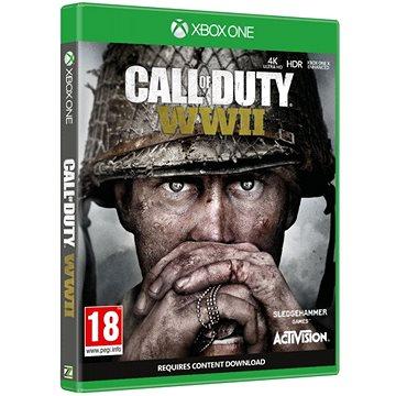 Call of Duty: WWII - Xbox One (88112EU) + ZDARMA Herní doplněk Předobjednávkový bonus: DLC Exclusive weapon camo pro Zombies mód
