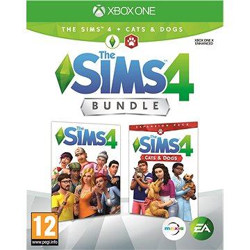 The Sims 4: Psi a Kočky bundle (Plná hra + rozšíření) - Xbox One (1073014)