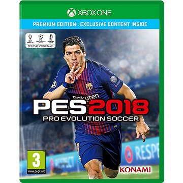 Pro Evolution Soccer 2018 Premium Edition - Xbox One (4012927112250)