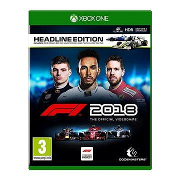 F1 2018 - Headline Edition - Xbox One (4020628763039)