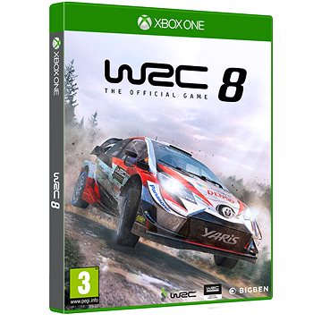 WRC 8 The Official Game - Xbox One (3499550375756)