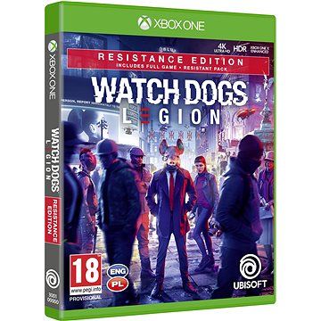 Watch Dogs Legion Resistance Edition - Xbox One (3307216139249)