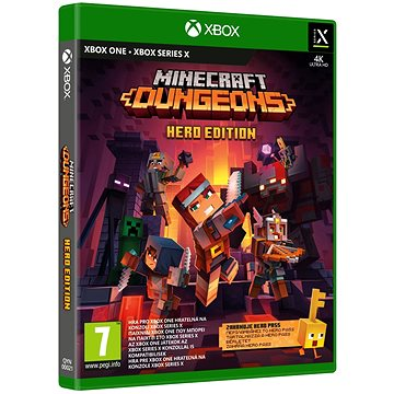 Minecraft Dungeons: Hero Edition - Xbox One (889842611496)