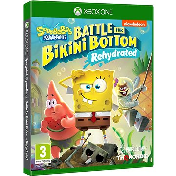 Spongebob SquarePants: Battle for Bikini Bottom - Rehydrated - Xbox One (9120080074591)