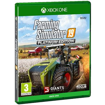 Farming Simulator 19 Platinum Edition - Xbox One(3512899122260)