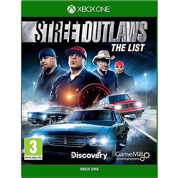 Street Outlaws: The List - Xbox One (5016488133838)