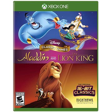 Disney Classic Games: Aladdin and the Lion King - Xbox One (5060146468527)