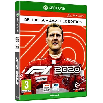 F1 2020 - Michael Schumacher Deluxe Edition - Xbox One (4020628720858)