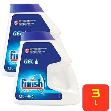FINISH Gel Double Action 2× 1,5 l (120 dávek)