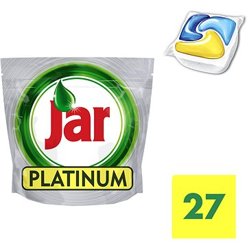 Tablety do myčky JAR Platinum Lemon (27 ks) (8001090016027)