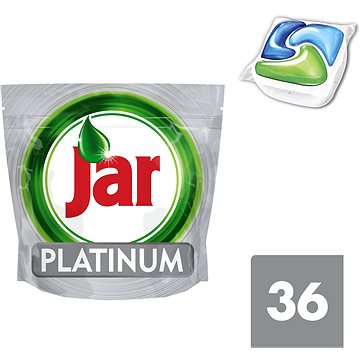 Tablety do myčky JAR Platinum Green (36 ks) (8001090016324)