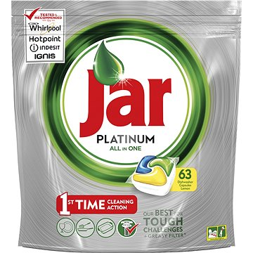 Tablety do myčky JAR Platinum Lemon (63 ks) (8001090016362)