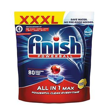 Tablety do myčky FINISH All-in 1 Max Lemon 80 ks (5997321733579)