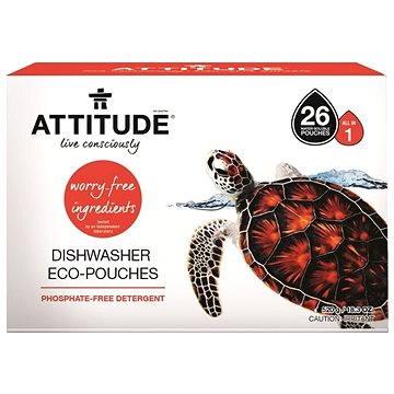 Tablety do myčky ATTITUDE Tablety do myčky bez fosfátů (26 dávek) (626232532272)