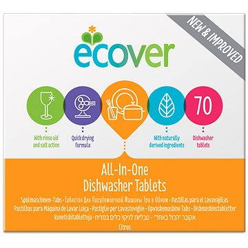 Tablety do myčky ECOVER All in One 70 ks (5412533407471)