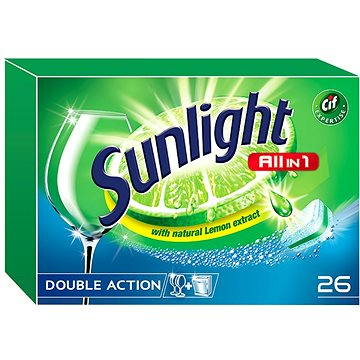Tablety do myčky SUNLIGHT All in 1 (26 ks) (8710908667961)